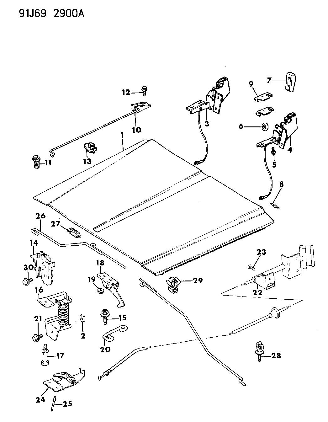 Service manual [How To Fix 1992 Jeep Cherokee Trunk Latch
