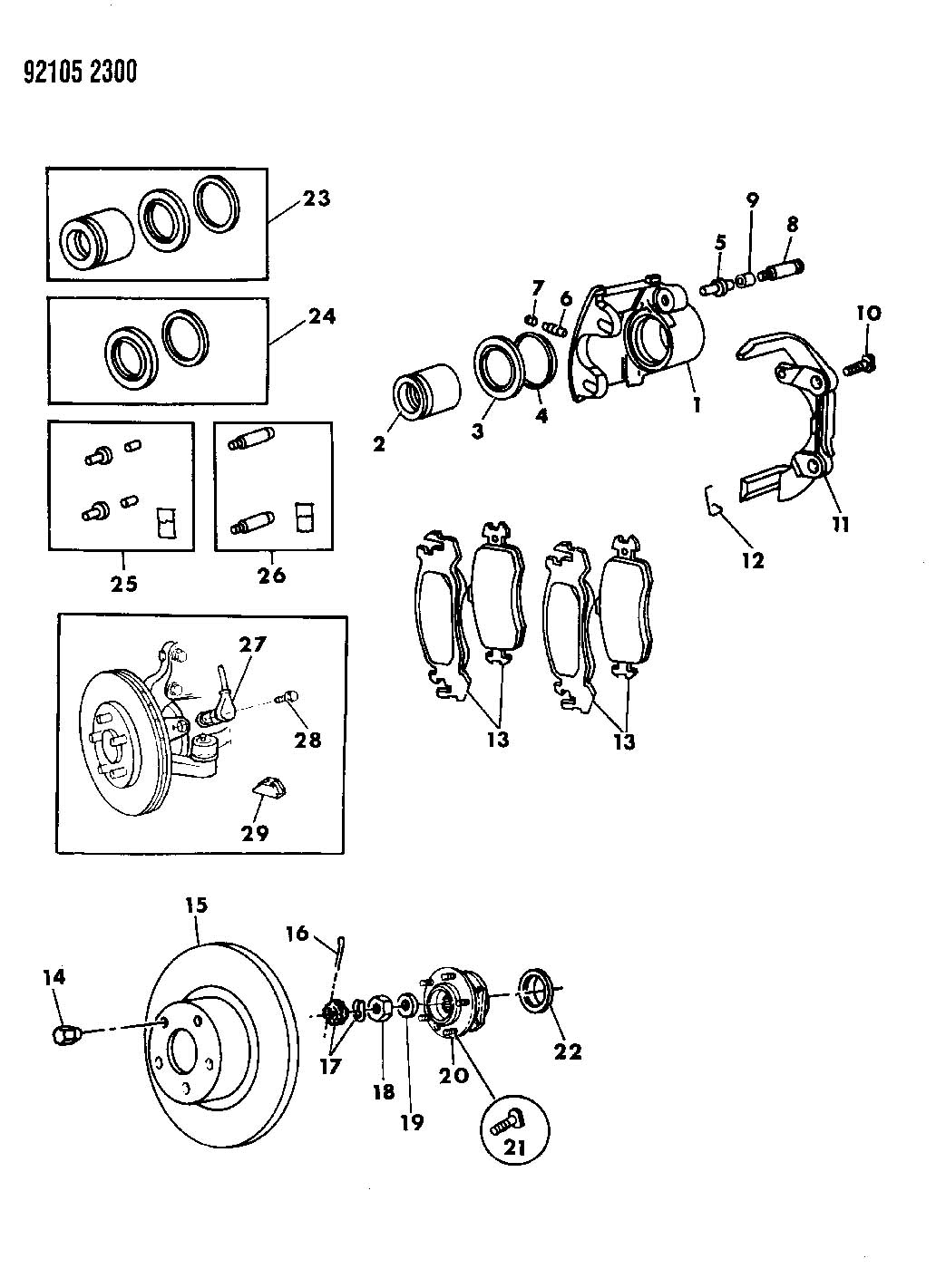 Dodge Grand Caravan Clip, anti rattle, clip, anti-rattle