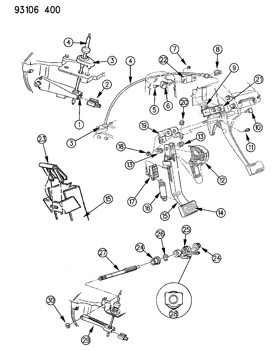Service manual [2002 Land Rover Discovery Clutch Pedal