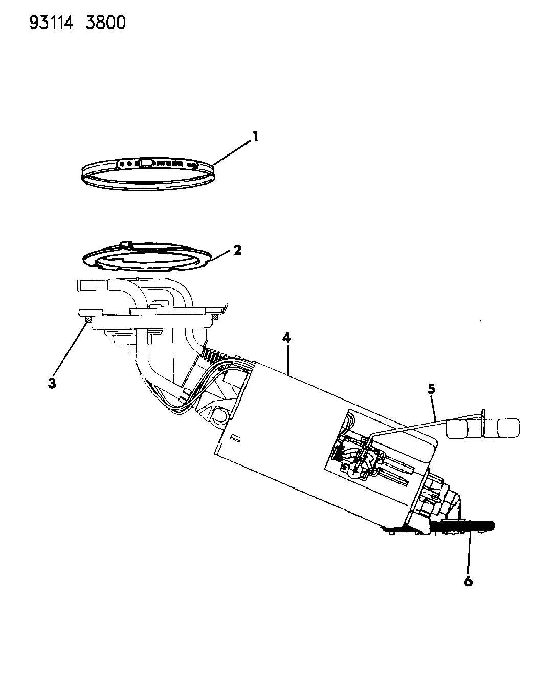 Dodge Ram Grommet Rollover Valve Fuel Vent Elbow