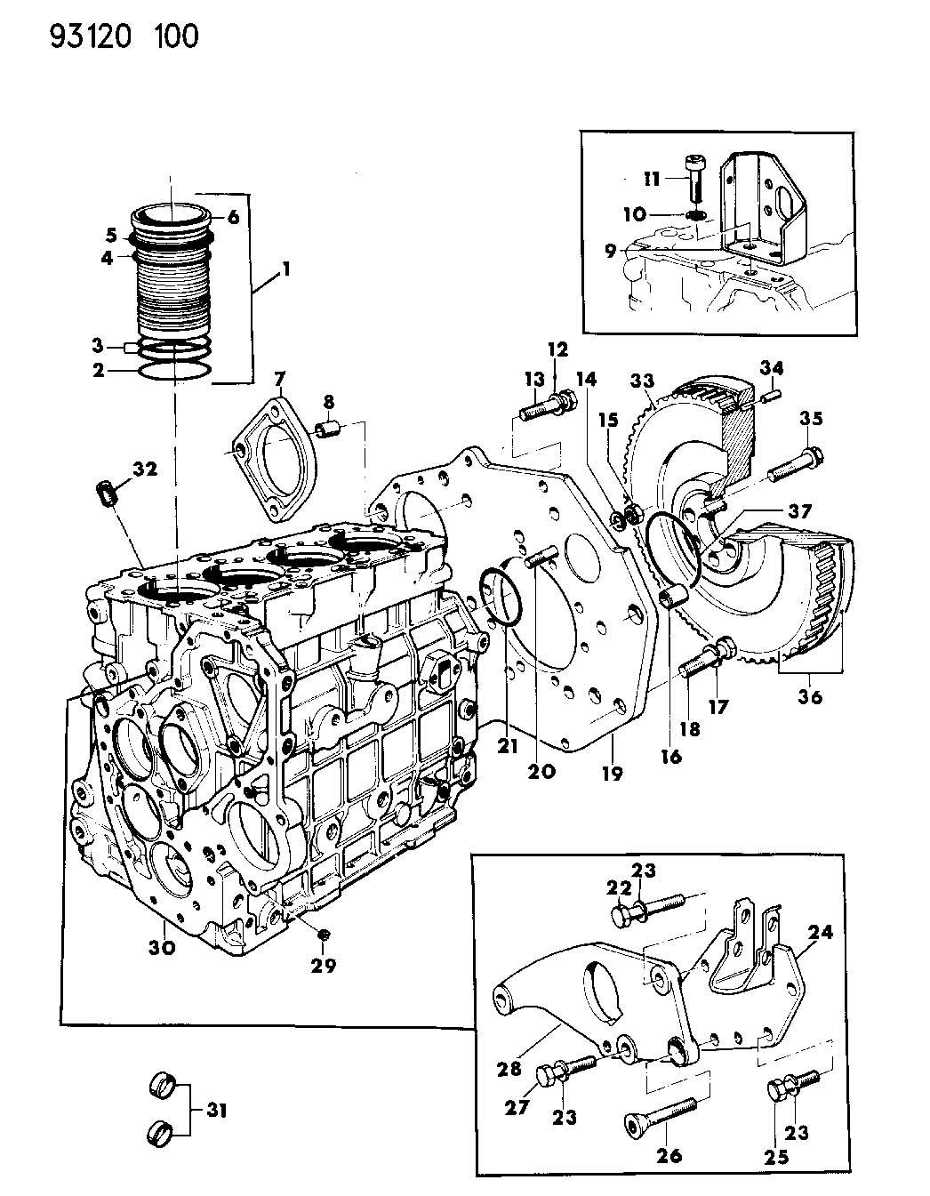 Chrysler Voyager Bolt. Flywheel. Bolt, flywheel, bolt