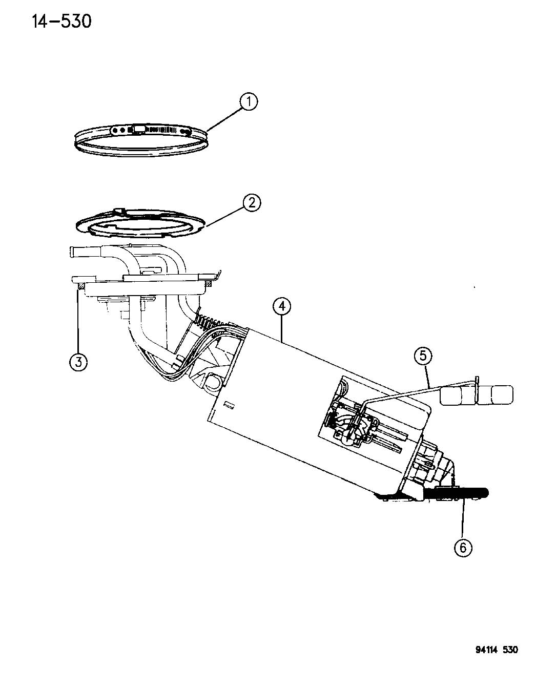 Dodge Ram 1500 Grommet. Rollover valve. Fuel vent elbow