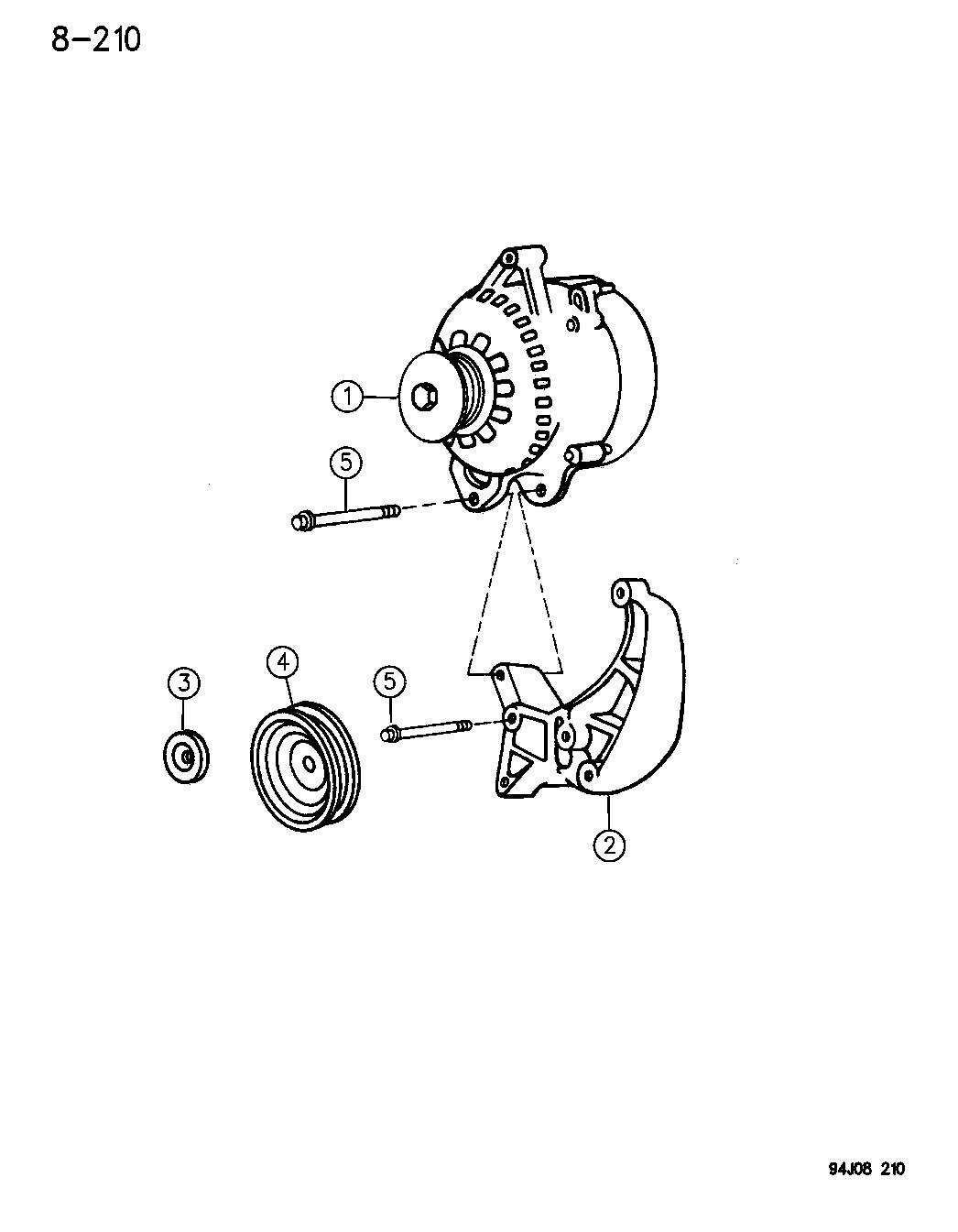Dodge Dakota Generator Engine Alternator