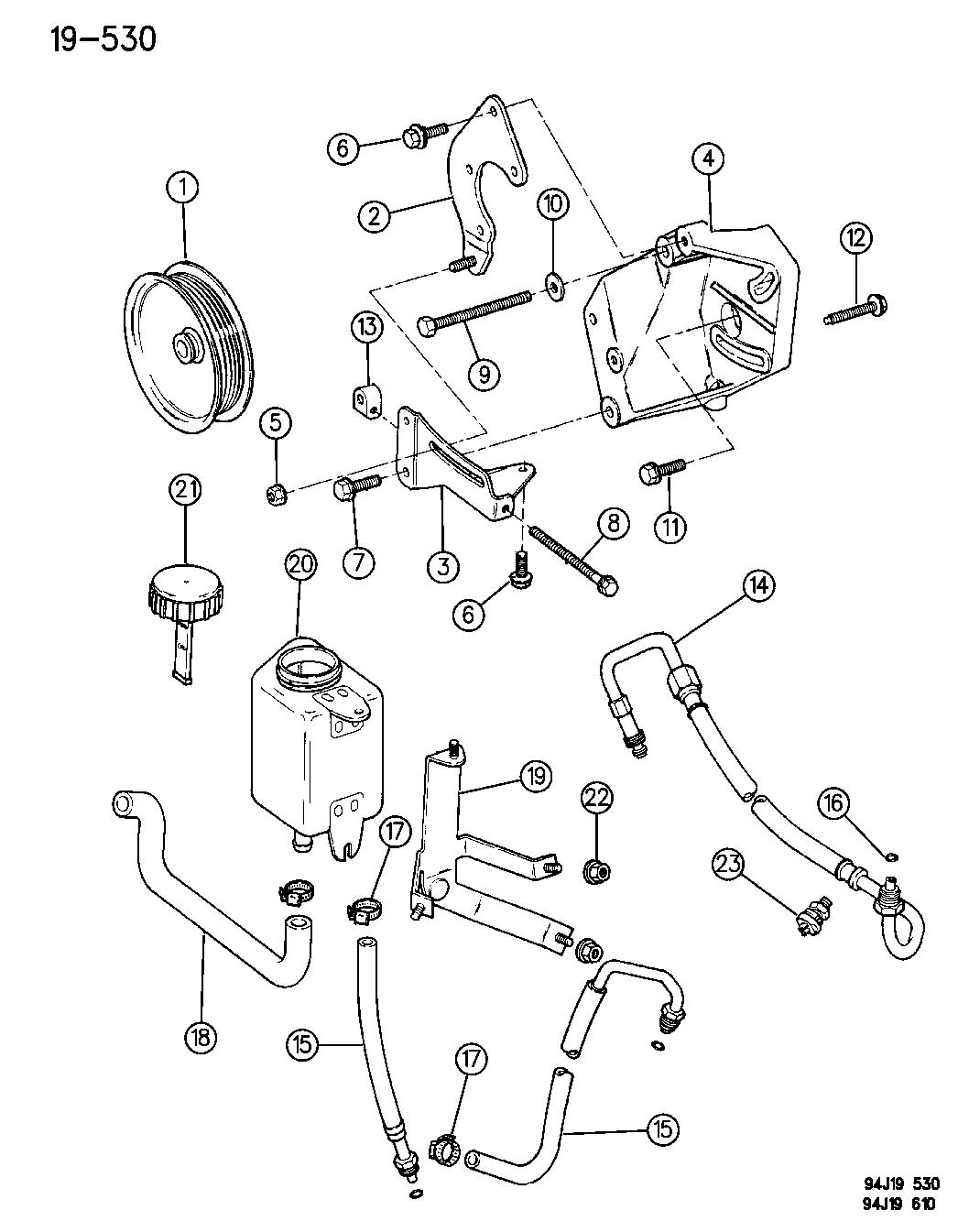 Jeep Grand Cherokee Power Steering Engine Diagram, Jeep