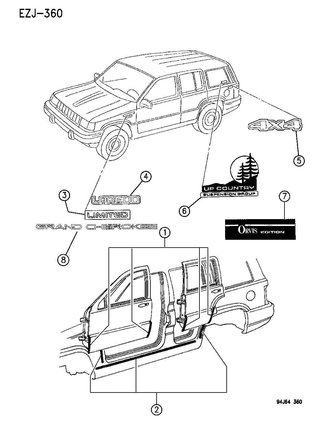 Jeep Yj Body Parts