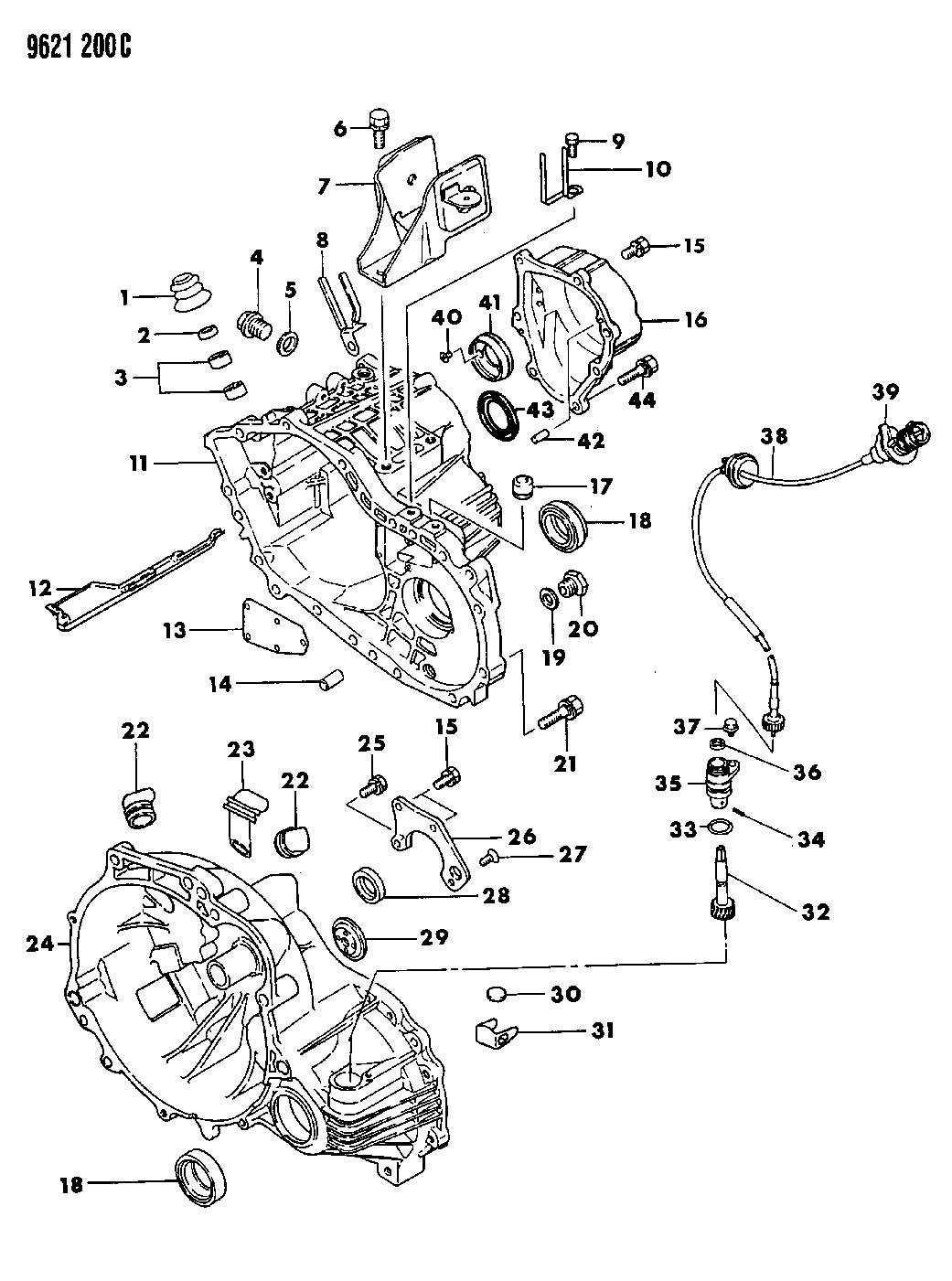 Dodge Ram 1500 Clip. Wiring. (10.5-60/85), 10.5-60/85