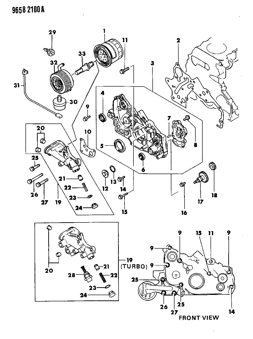 Service manual [Oil Pump Removal Procedure For A 1991
