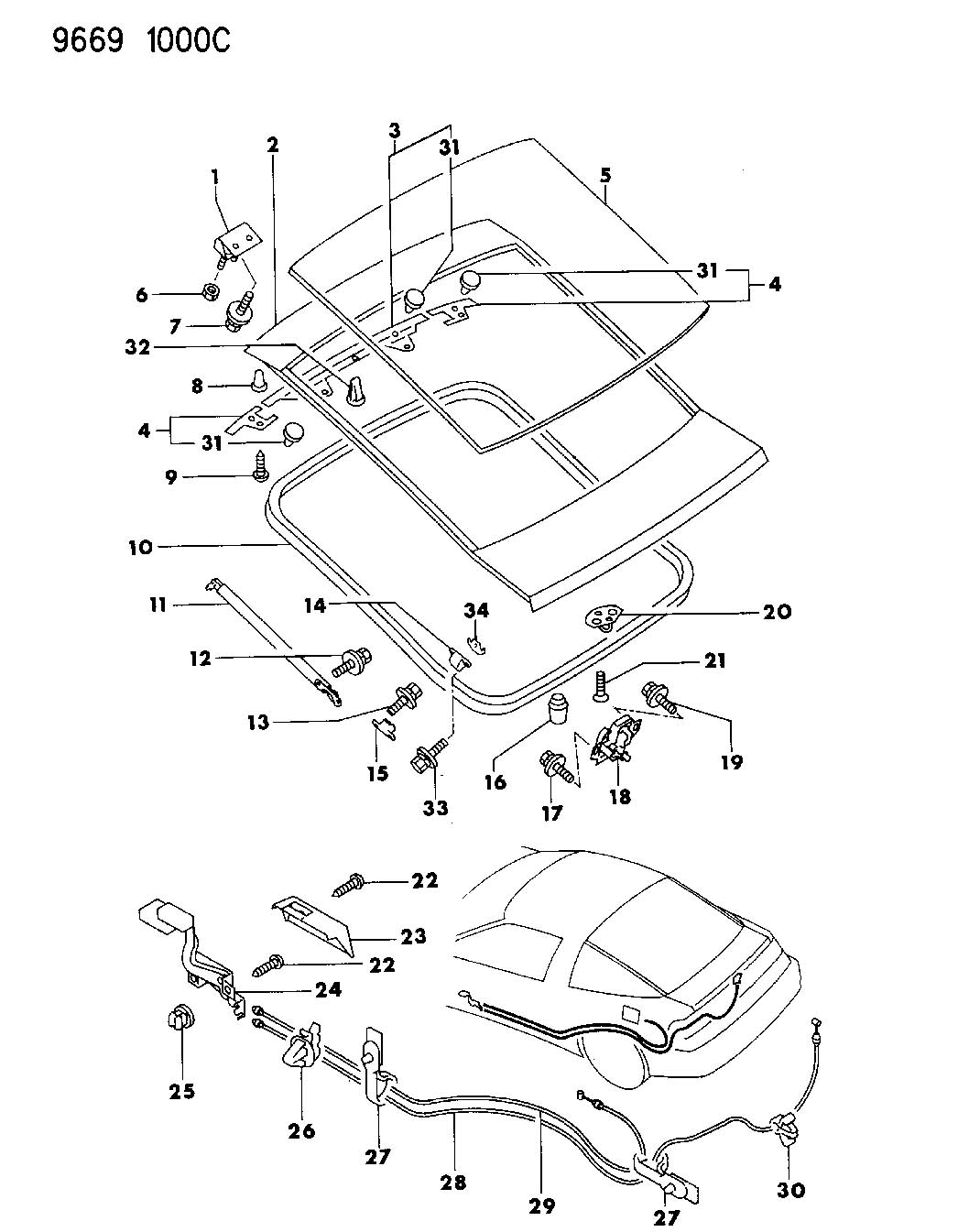 Service manual [How To Replace 1991 Eagle Talon Window