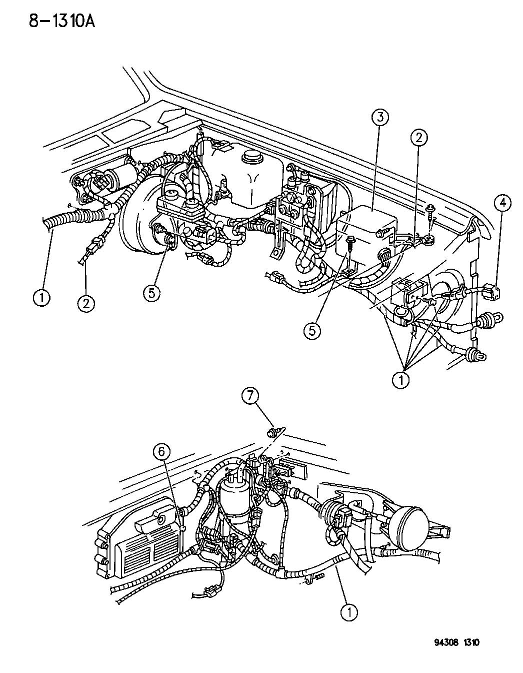 Dodge Dakota Wiring Headlamp To Dash N Body