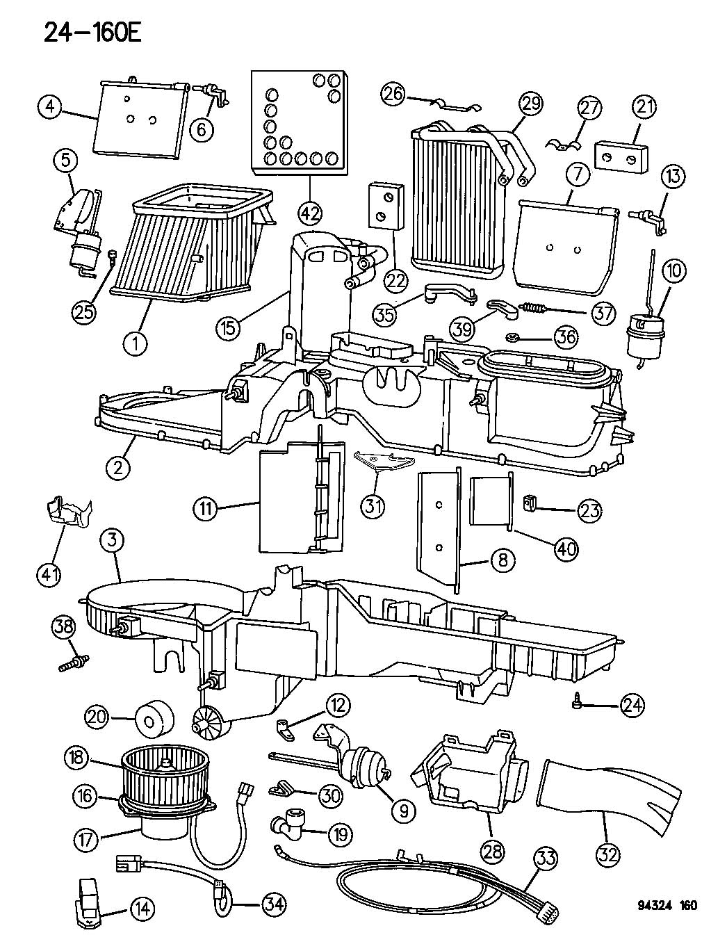 Dodge Ram 2500 Actuator. Heater. Vent/defrost. Ventdefrost