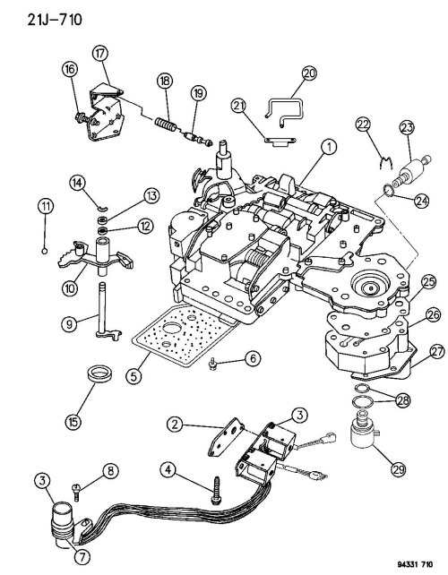 small resolution of dodge 46re transmission wiring diagram gallery