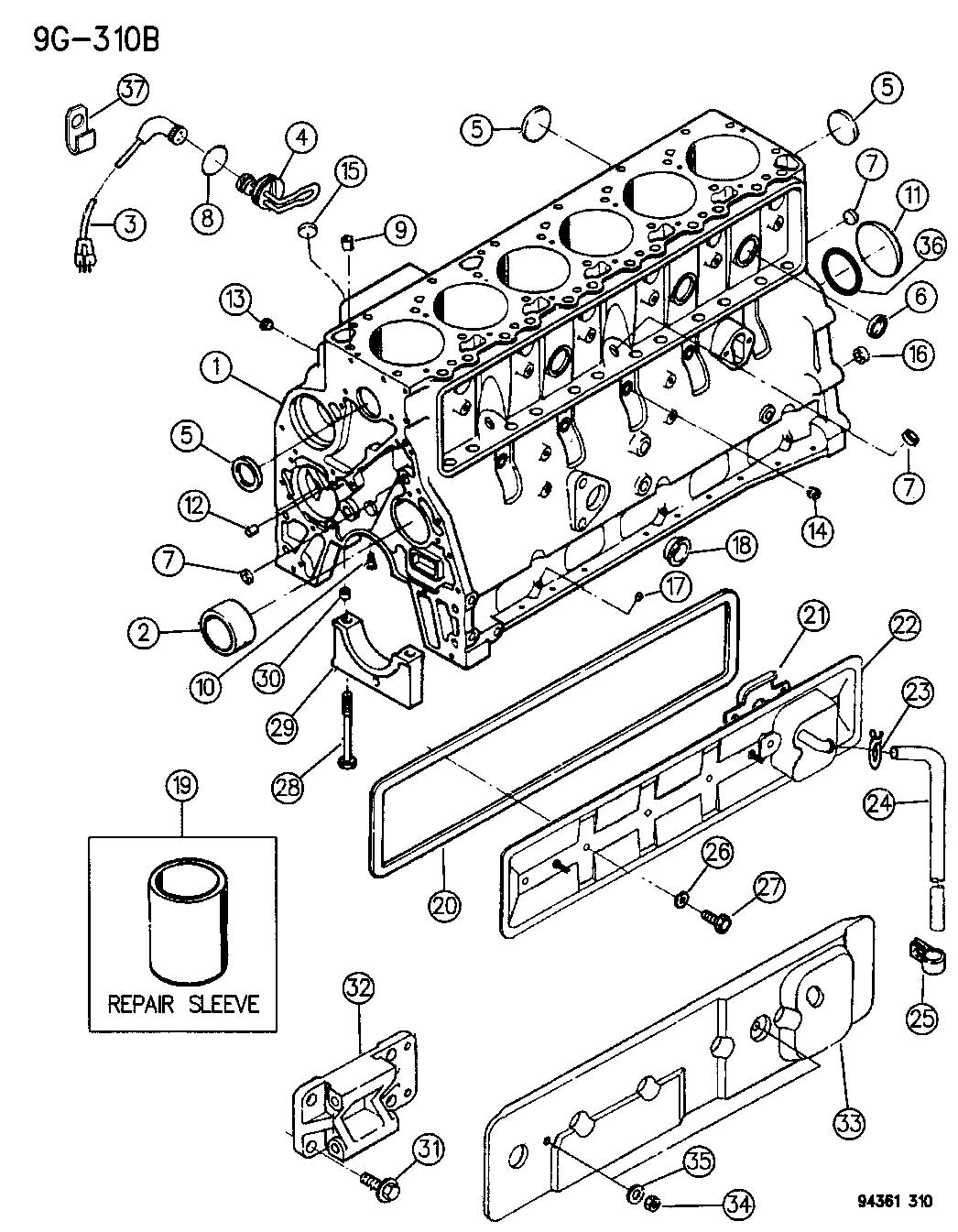 S10 4 Cylinder Engine Diagram