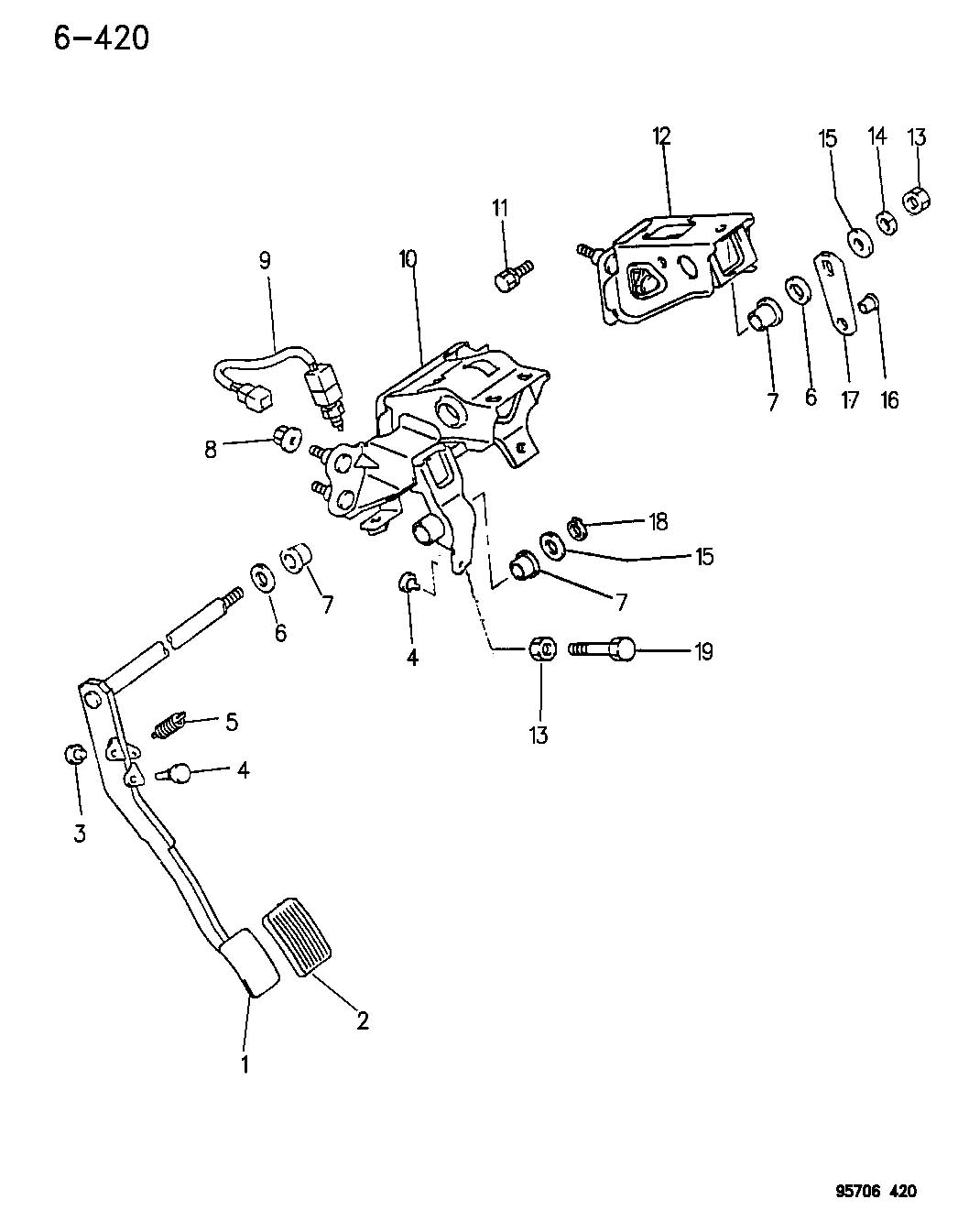 Service manual [Exploded View Of 1995 Plymouth Neon Manual