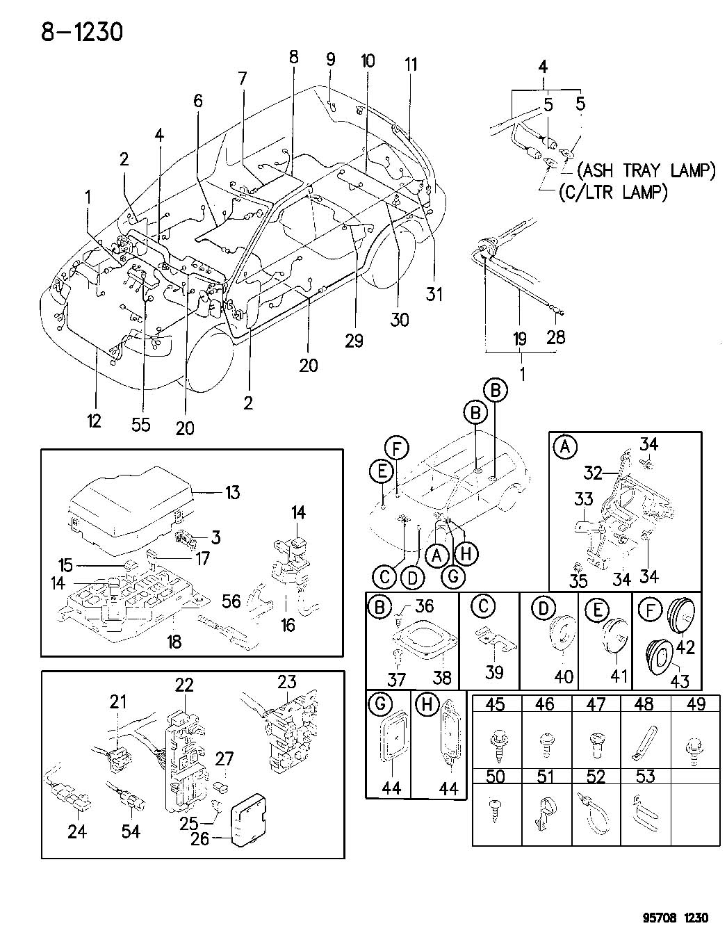 1998 Chrysler Sebring Fusible link. 40 amp, green 40a