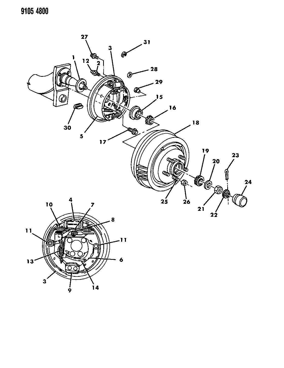Chrysler Pt Cruiser Lever Left Park Brake Adjusting