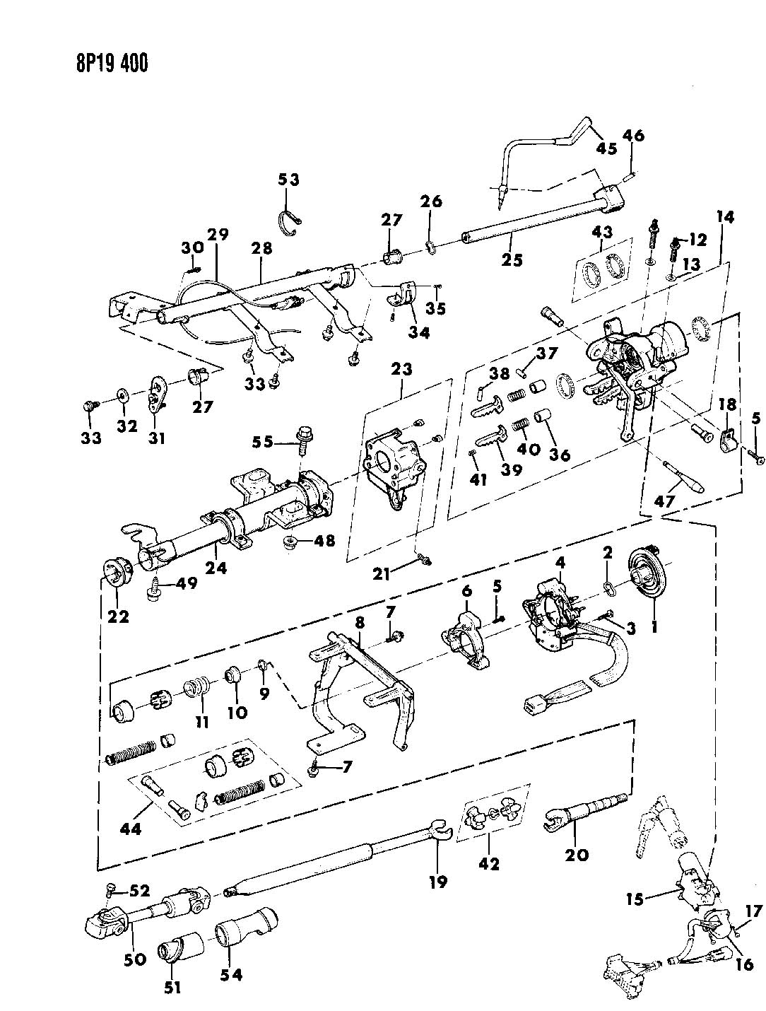 Service manual [1990 Eagle Talon Tilt Steering Column