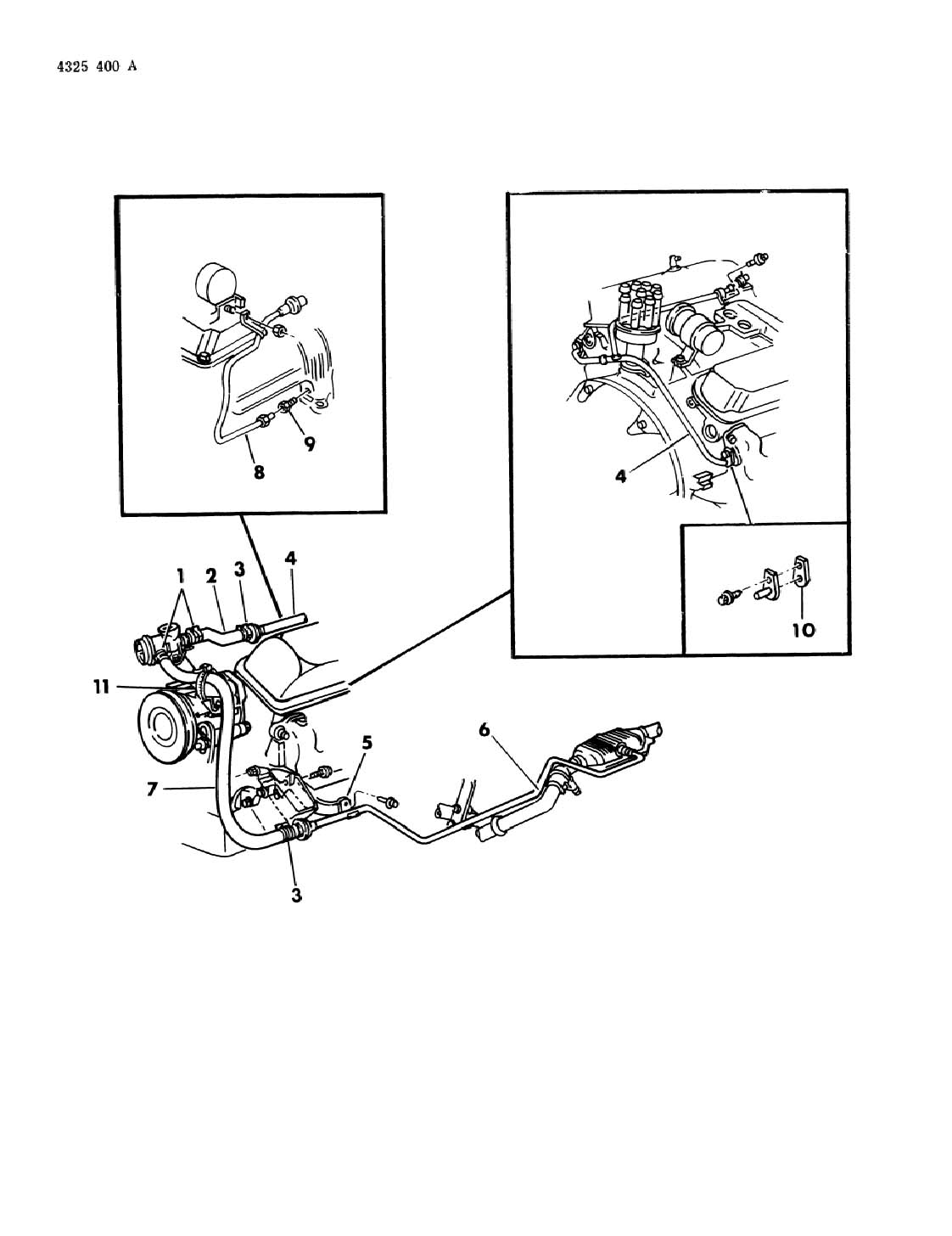 Dodge Air Pump Tubing 318