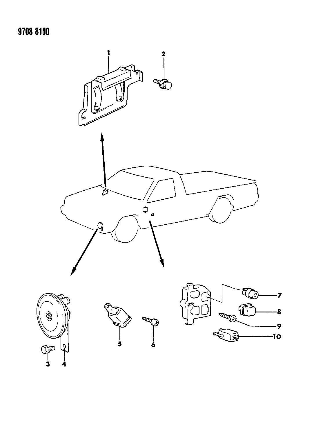 1987 Mitsubishi Montero Carburetor Diagram, 1987, Free