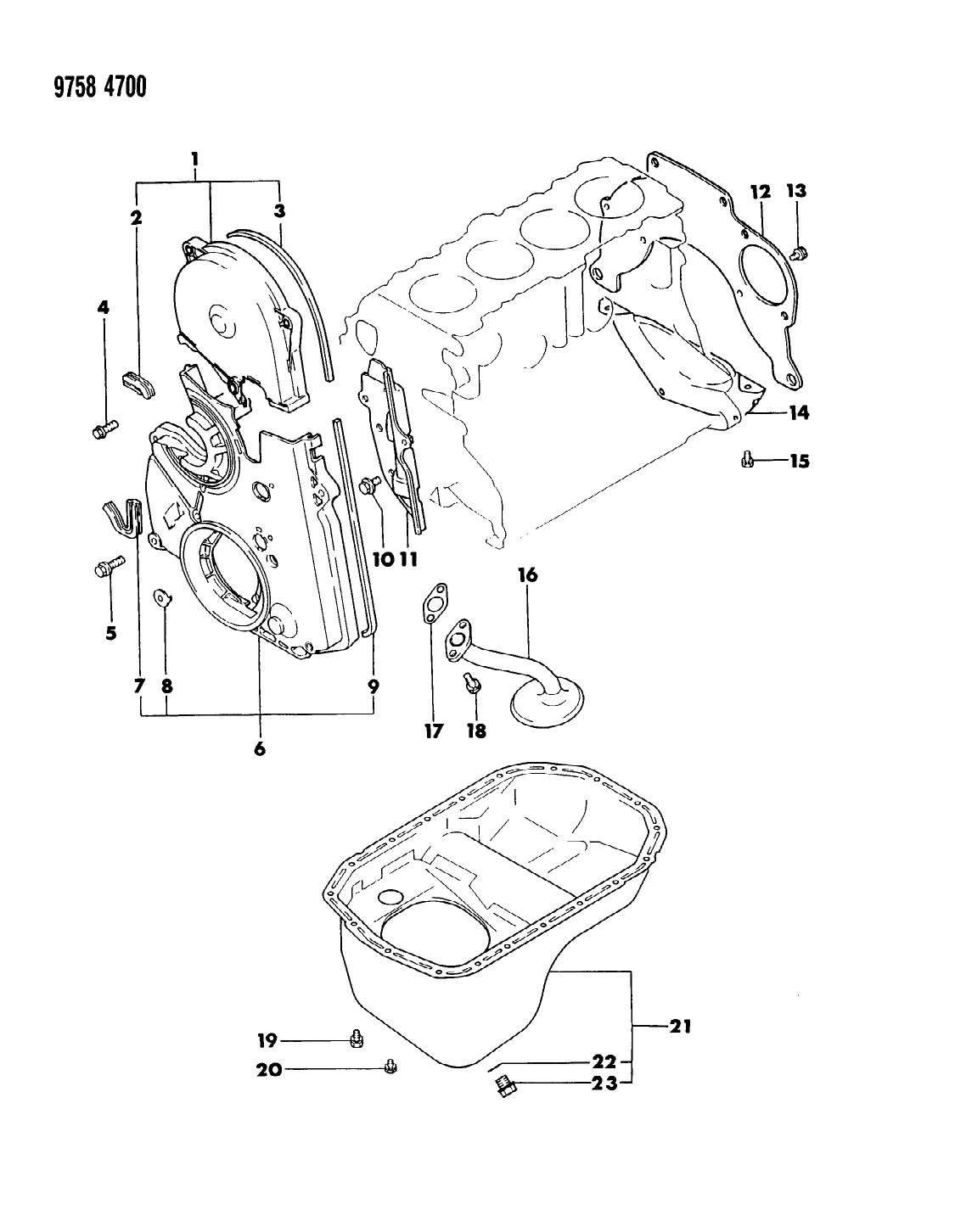 Jeep Wrangler Gasket Oil Drain Plug 14 Efa Ebg
