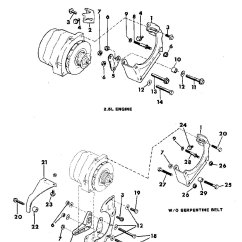 Vl Alternator Wiring Diagram Raspberry Pi 1988 Subaru Justy Impreza Rear
