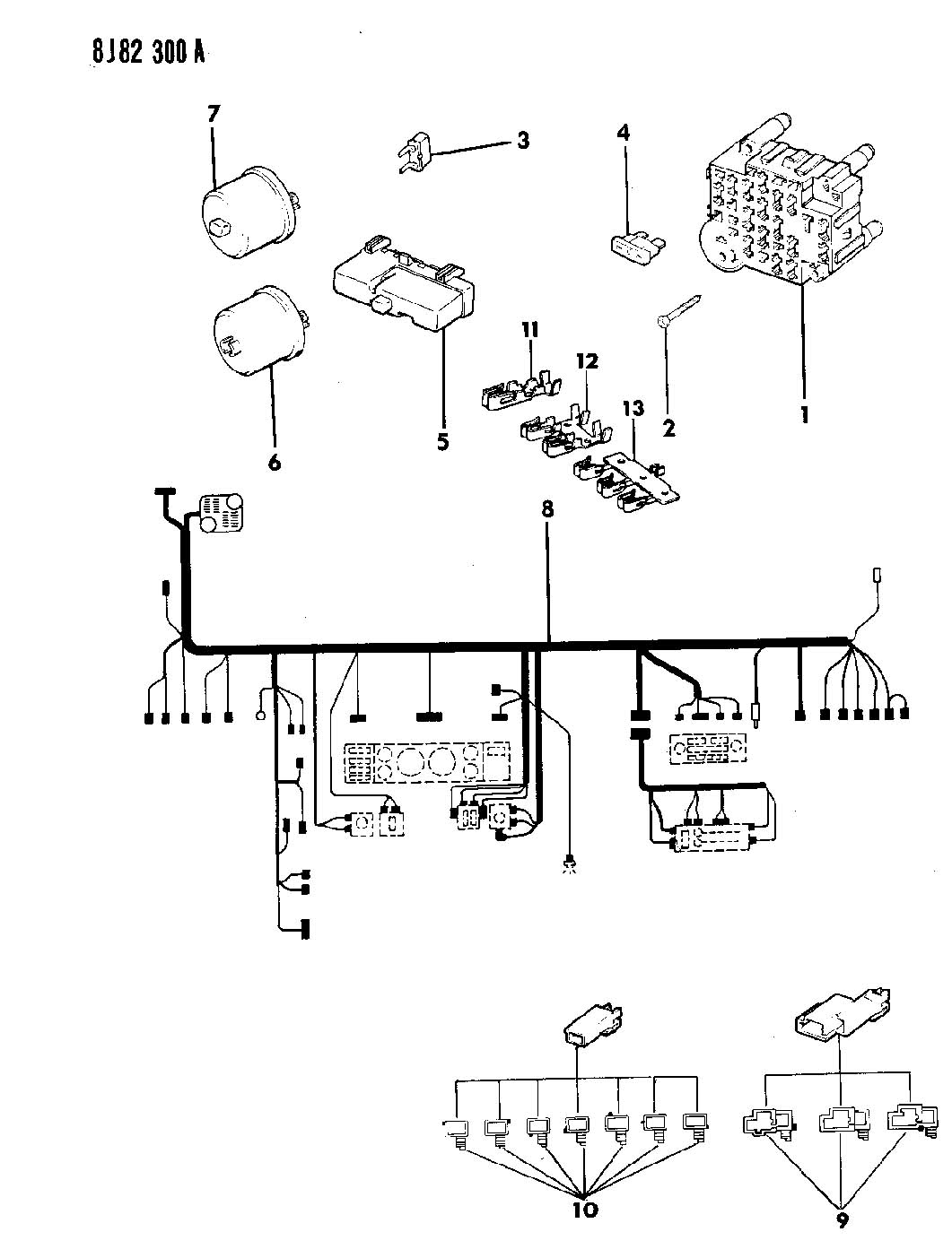 hight resolution of 89 yj wiring diagram wiring diagram libraries jeep yj engine diagram 1990 jeep wrangler wiring harness
