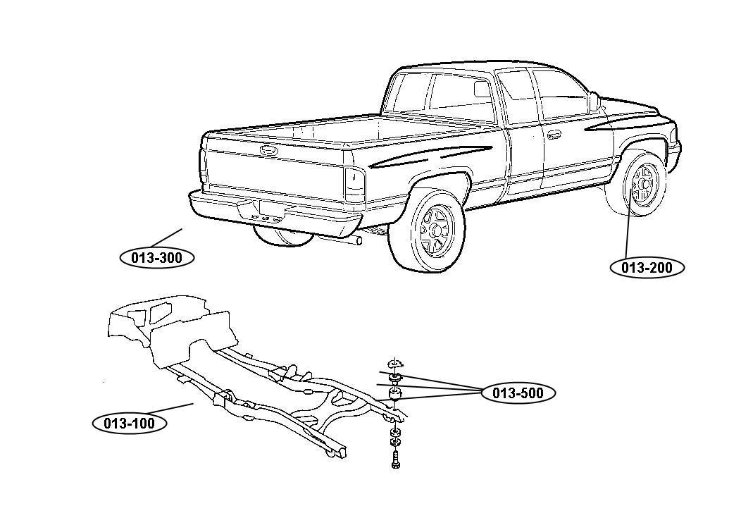 2001 Dodge Ram 2500 Door. Garage door opener. Trim: (*o0