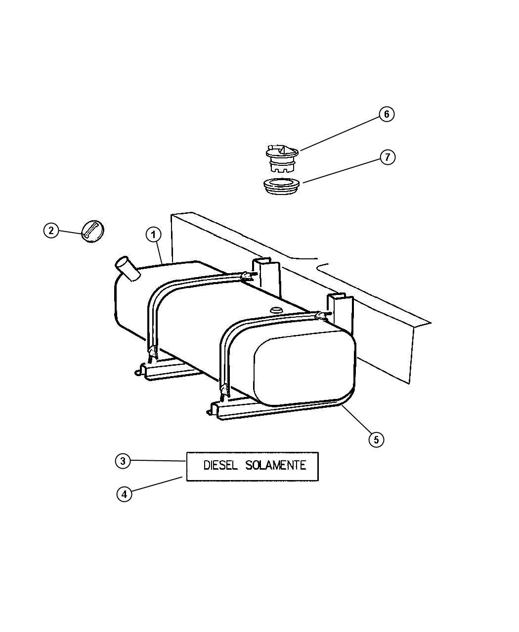 Dodge Ram Valve Fuel Tank Rollover Safety