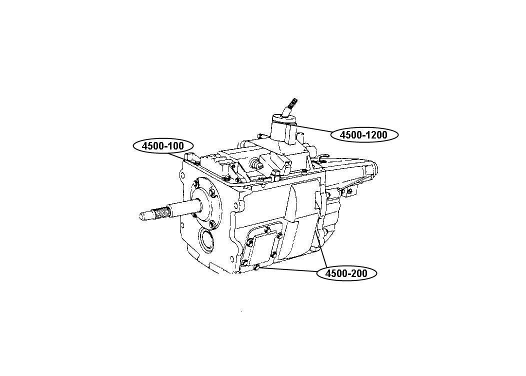 Diagram 99sf5 5 Speed Manual Transmission