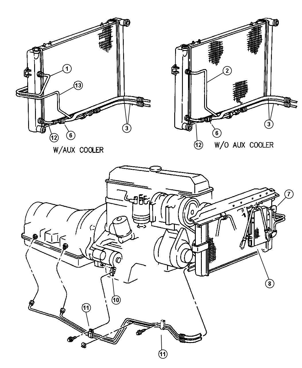 Service manual [Transmission Fluid Lines Jeep Cherokee