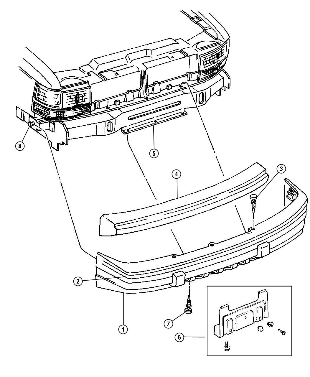 Jeep Cherokee Bumper Parts