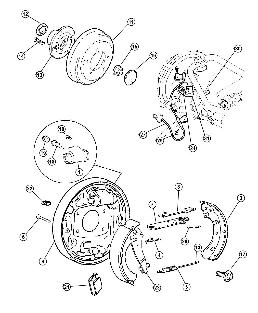 Rear Kes Diagram, Rear, Free Engine Image For User Manual
