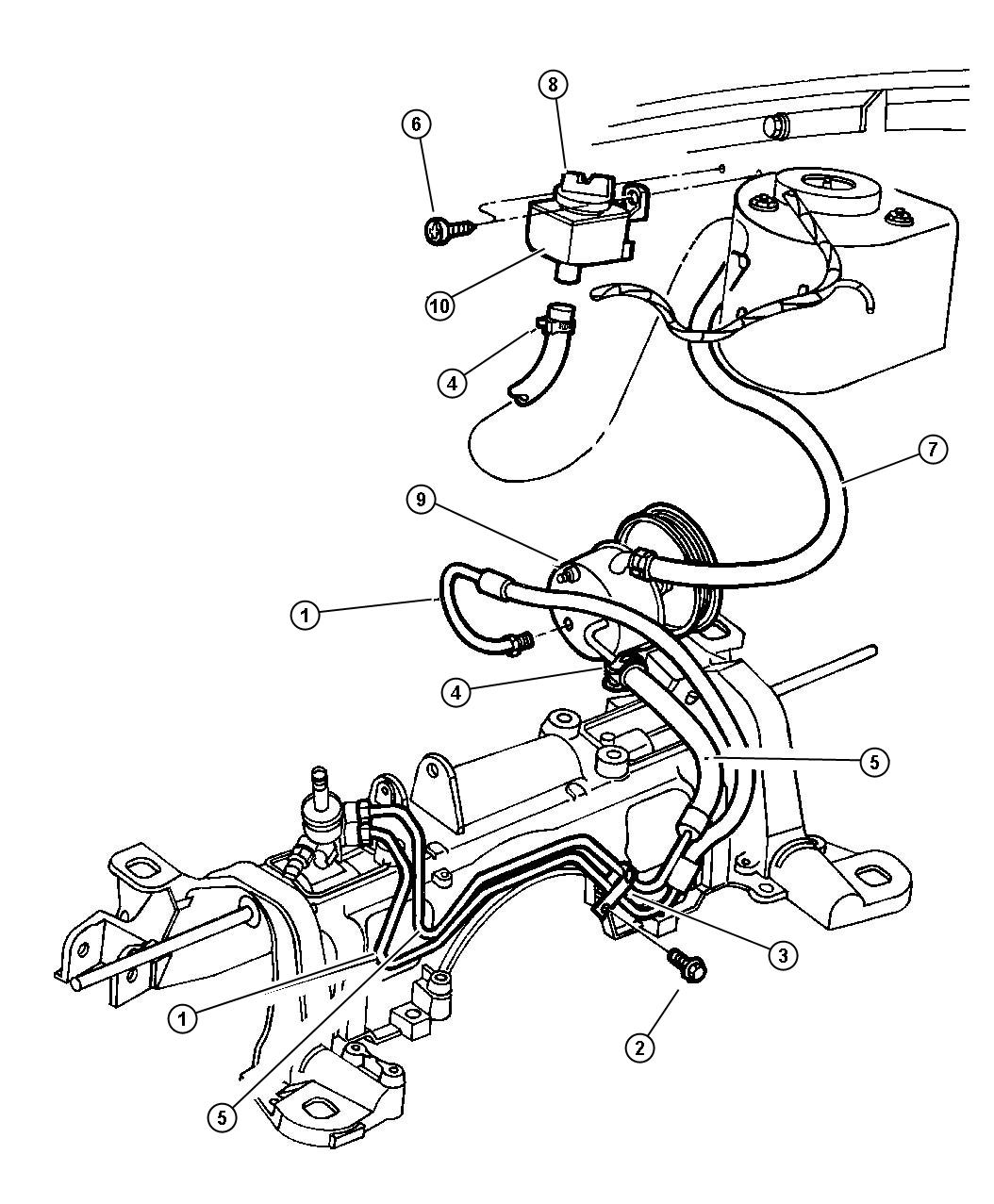 Service manual [How To Change A Powersteering Hose 1994