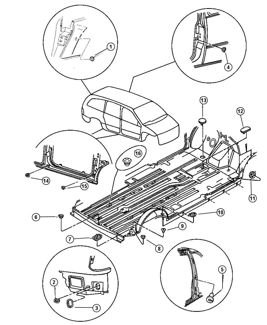 Chrysler Grand Voyager SE Plugs.