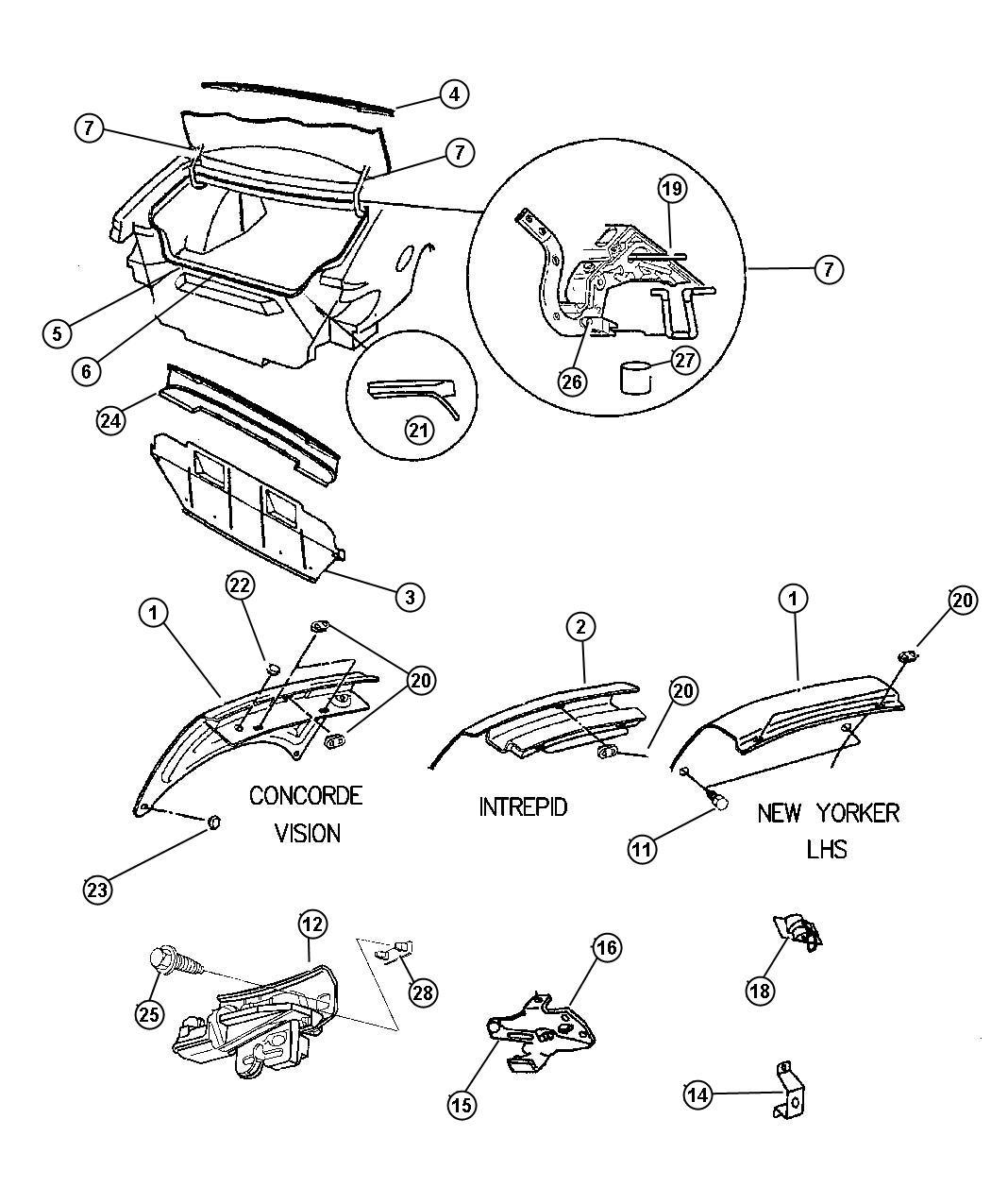 Service Manual Removing Starter 1993 Eagle Vision 1996