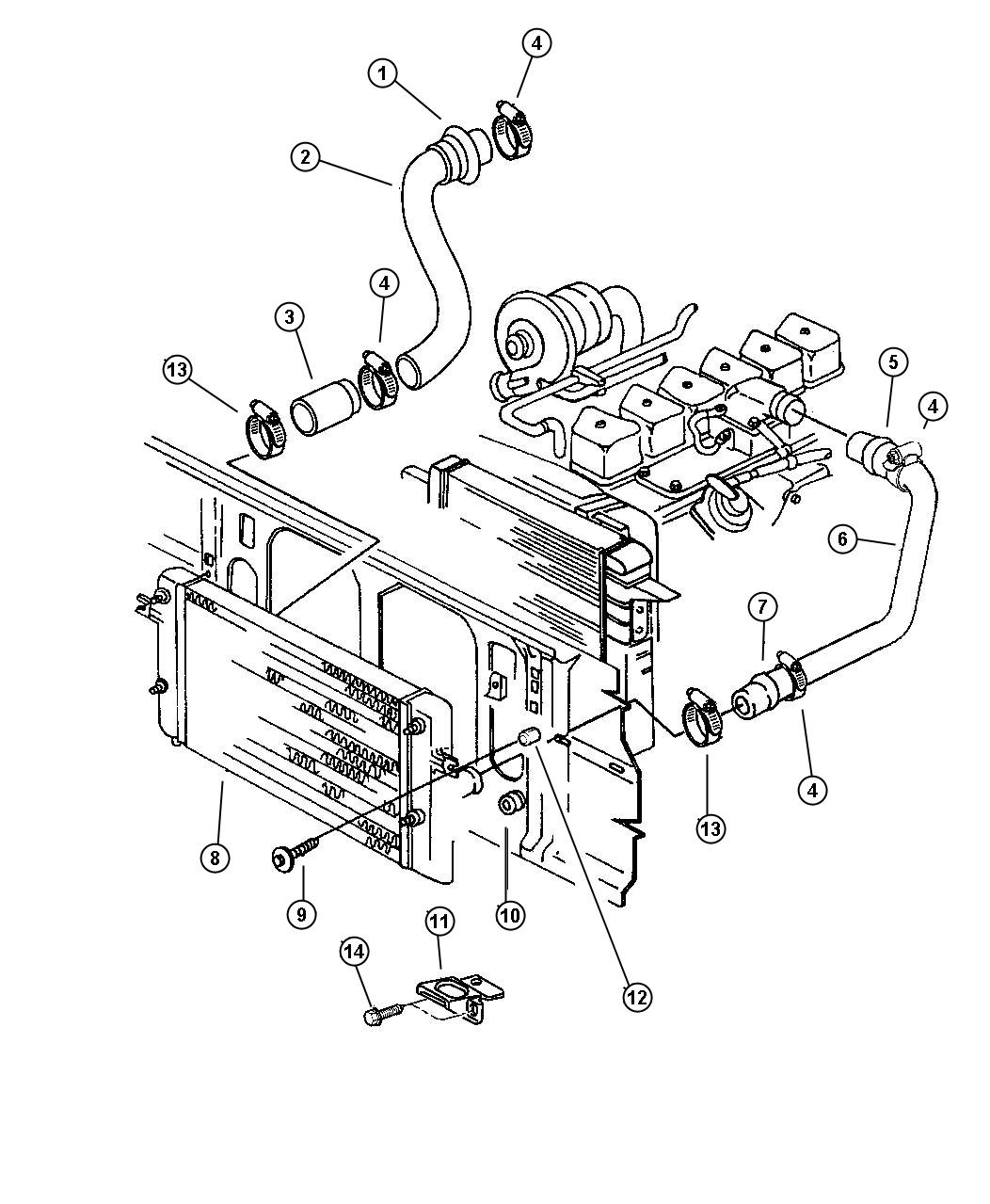 Charge Air Cooler System