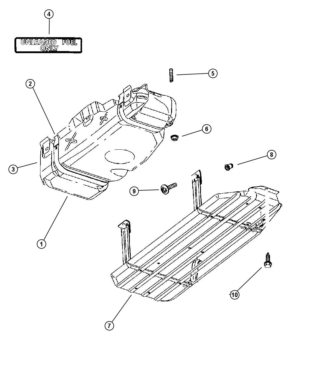 Service manual [Remove Fuel Tank On A 1998 Dodge Durango