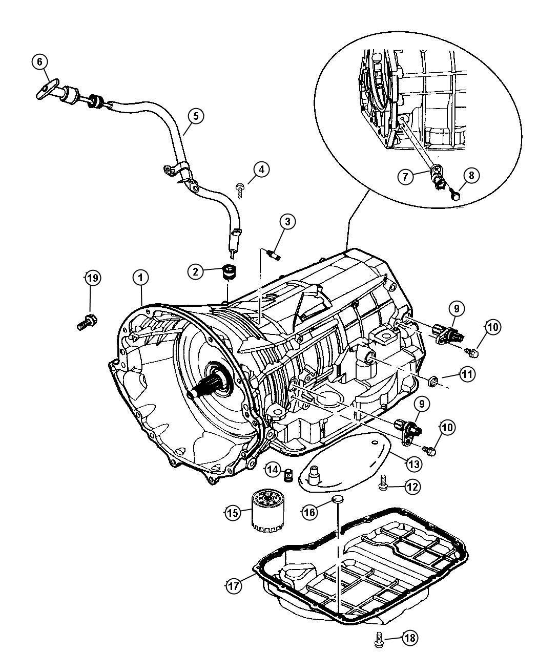 2013 Dodge Transducer. Pressure sensor. 52119098, 52119099