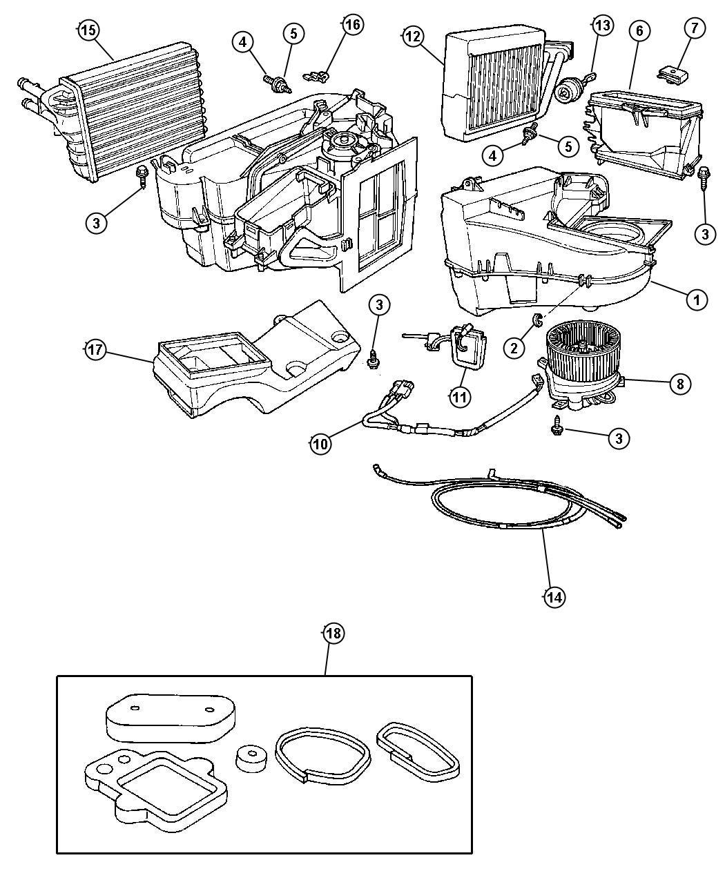 Dodge Dakota Actuator Vacuum Conditioing