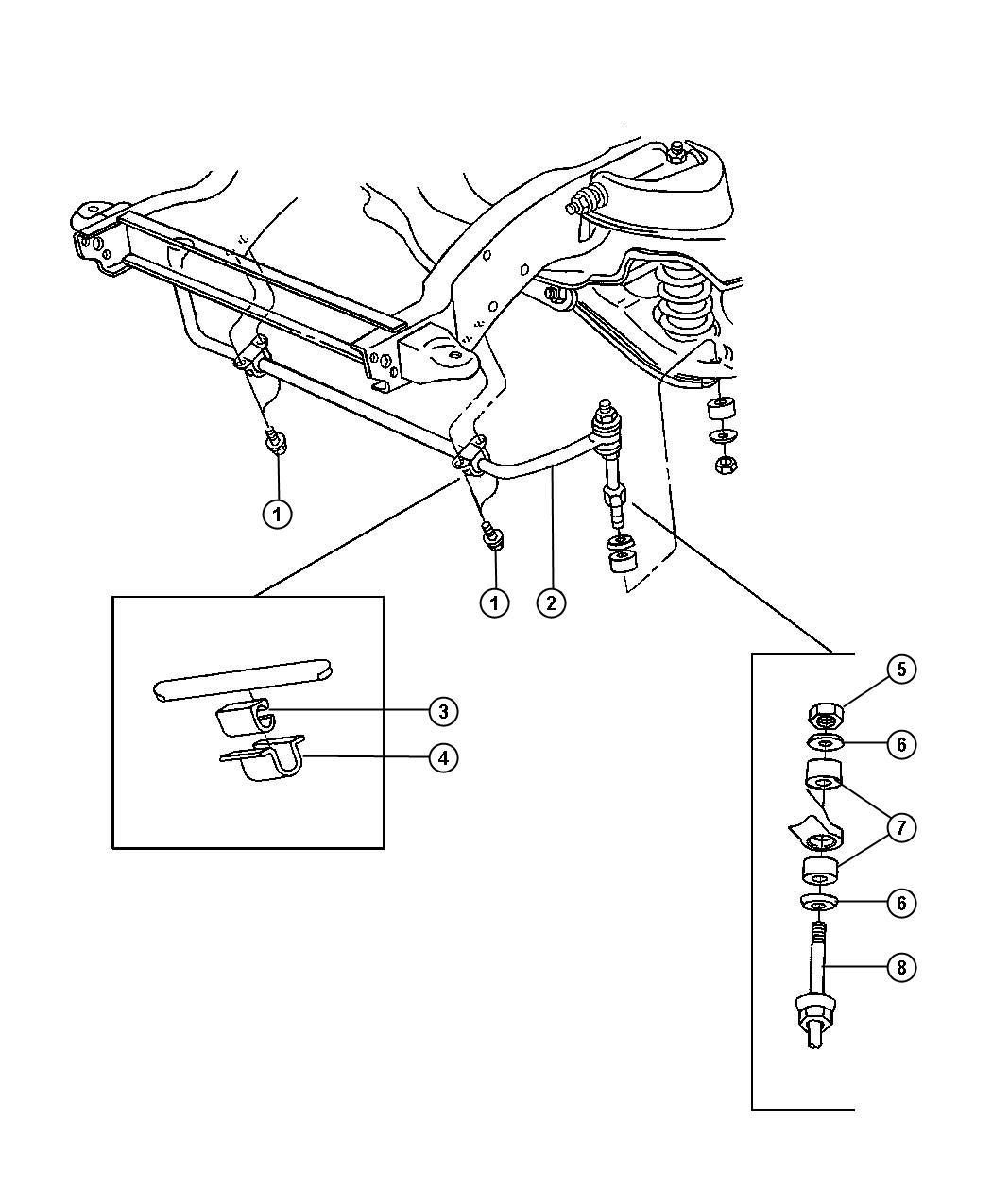 Front Stabilizer Bar Br 1 2 3