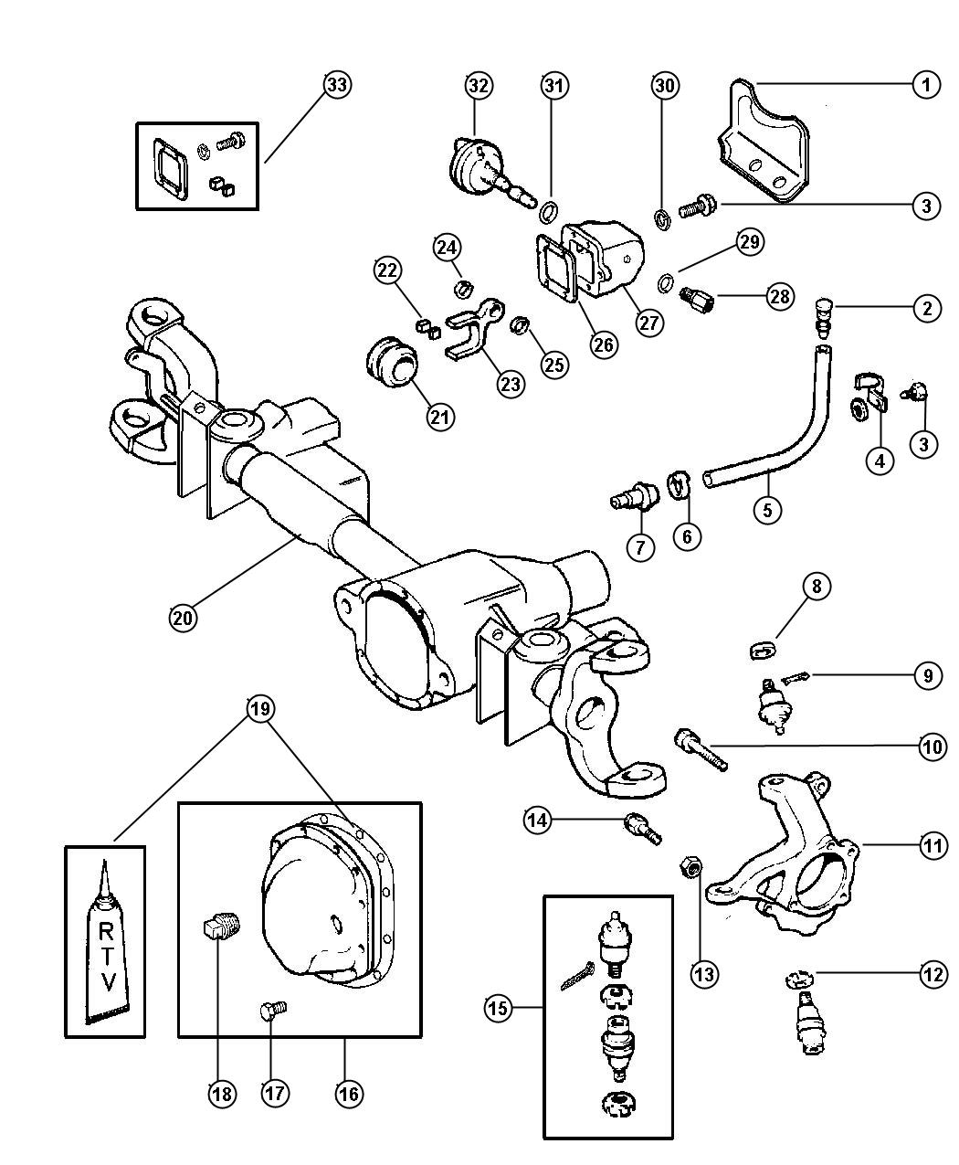 1999 dodge ram 1500 front axle diagram motor with capacitor wiring pictures to pin on