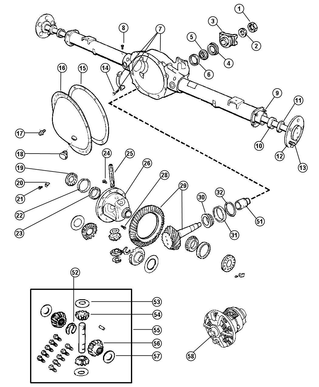 2000 Blazer Differential Parts. Diagrams. Wiring Diagram