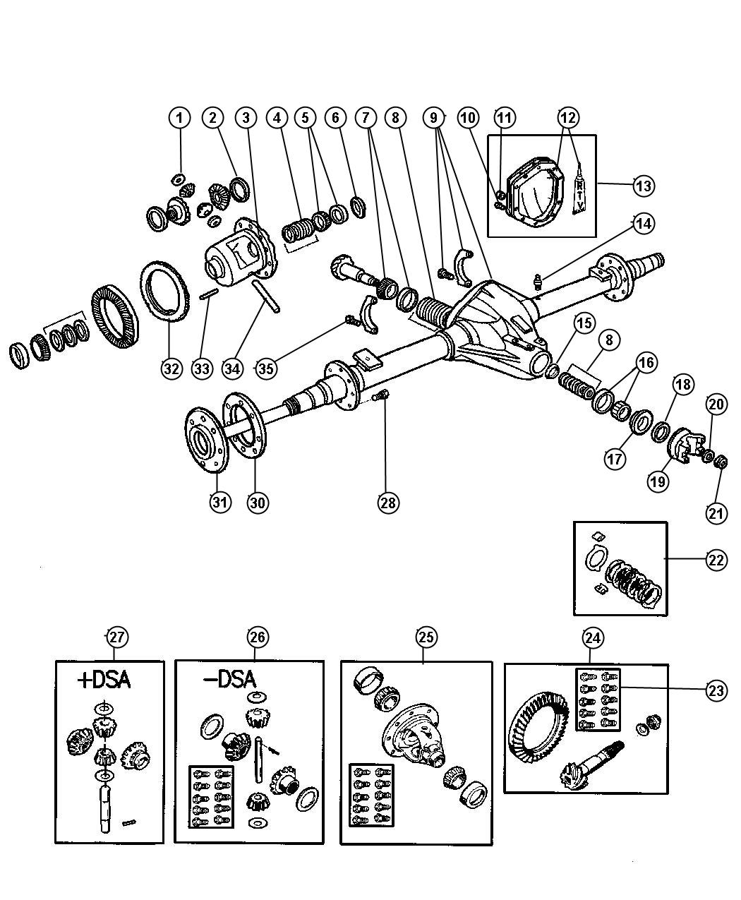 Dana 70 Rear Axle Diagram, Dana, Free Engine Image For