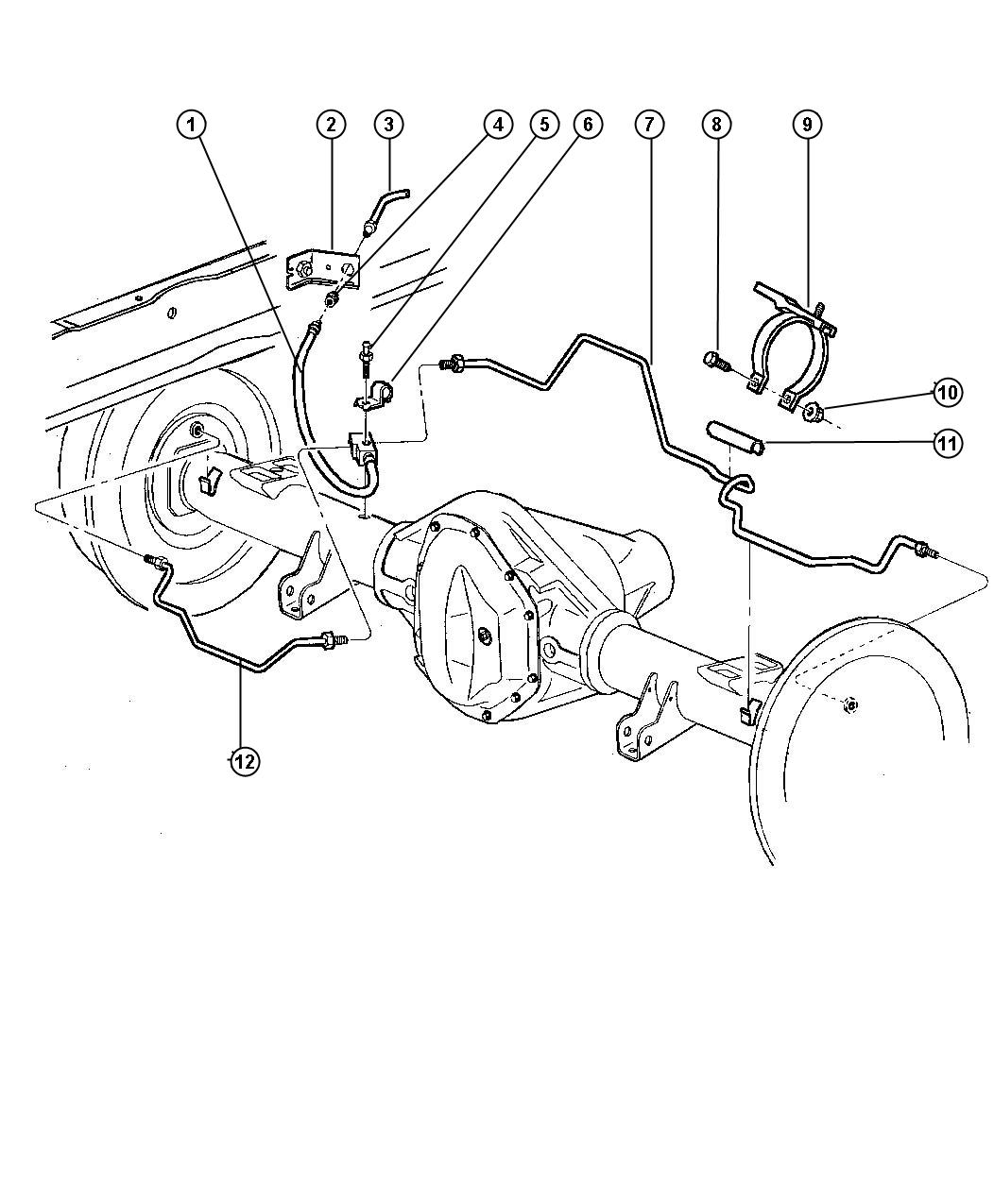 Dodge Ram Brake Line Diagram Pictures To Pin On