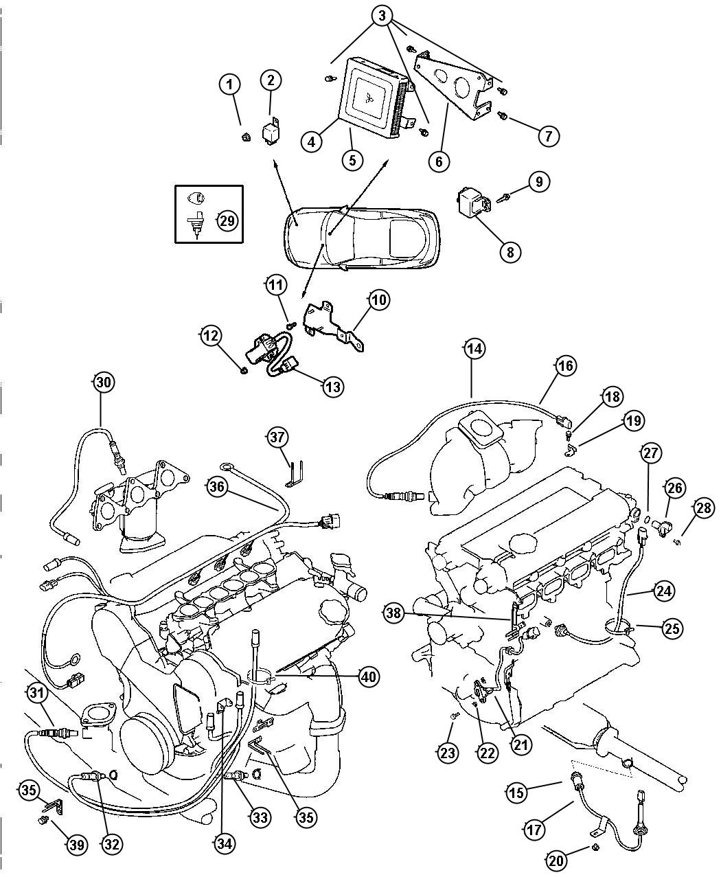 1991 Dodge Relay. Electrical. Alternator (g82-d-mk1