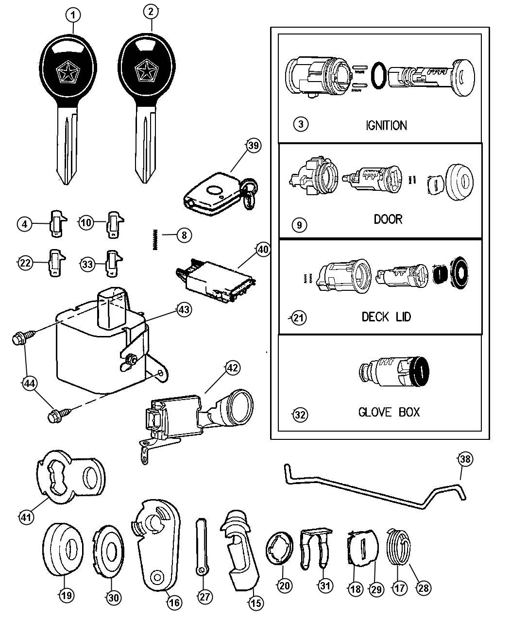 1999 dodge ram ignition switch wiring diagram polaris sportsman 400 chrysler parts auto warehouse autos post
