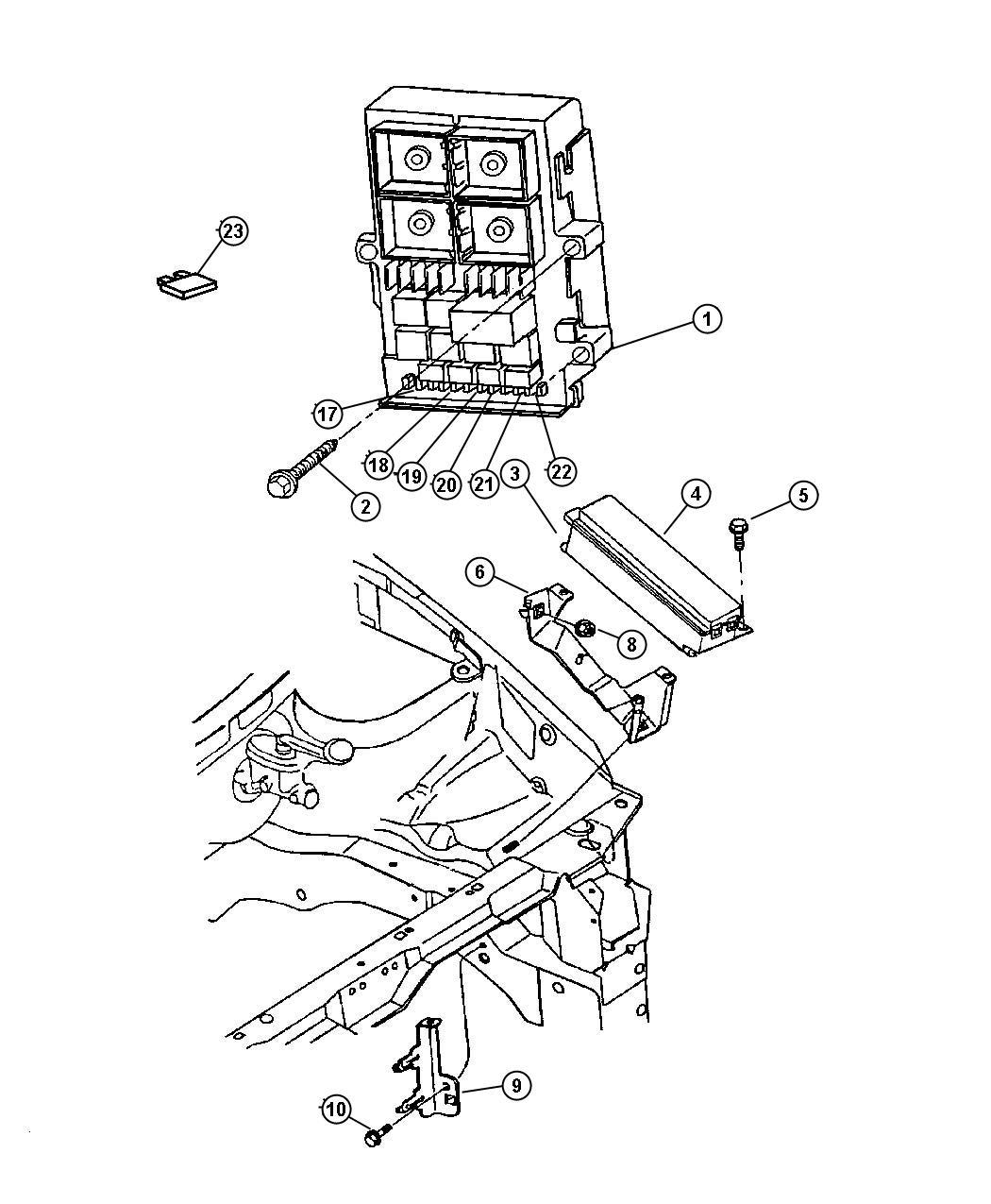 Jeep Wrangler Flasher. Combination, combo, module