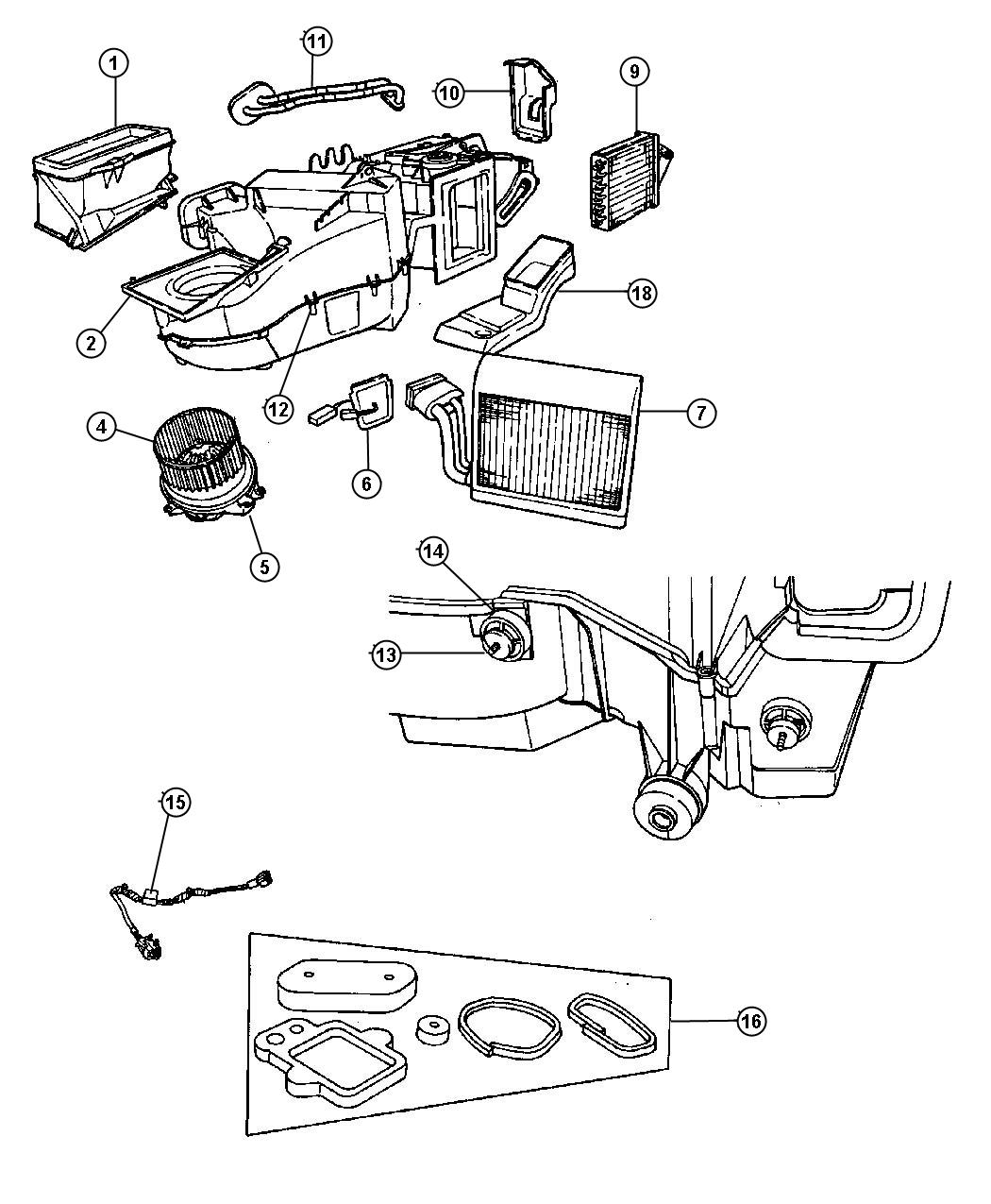2007 Chrysler Town And Country Air Conditioning Diagram