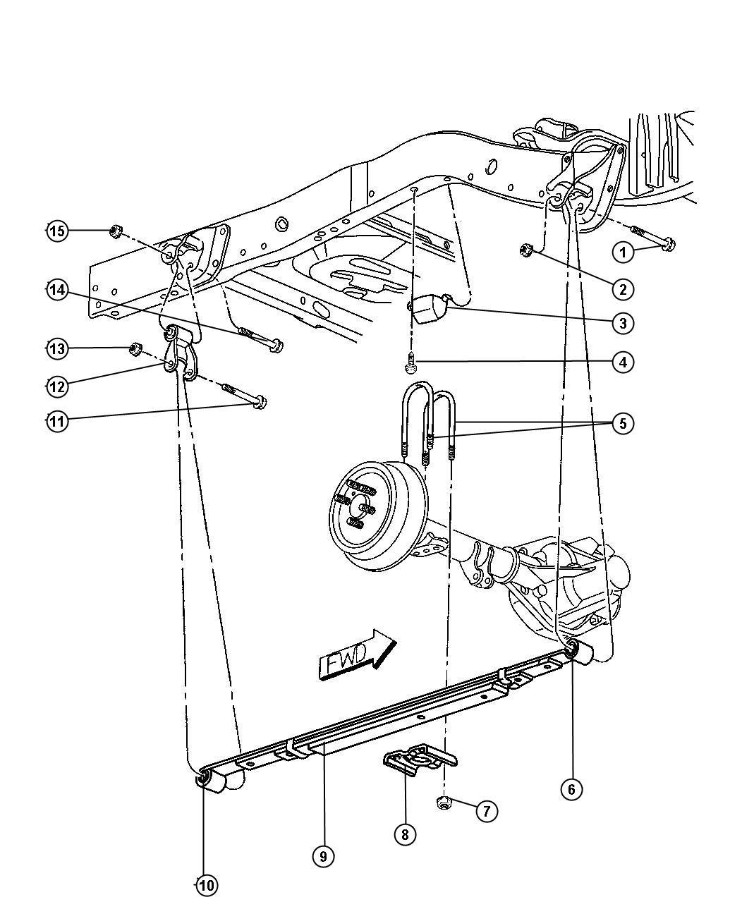 1997 Dodge Dakota 56021624 Parts Diagram. Dodge. Auto