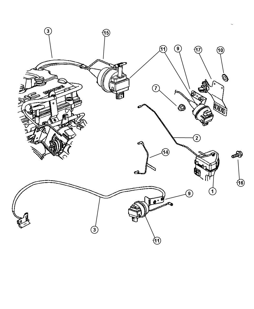 Speed Control 2 0l 2 4l 2 7l Engine