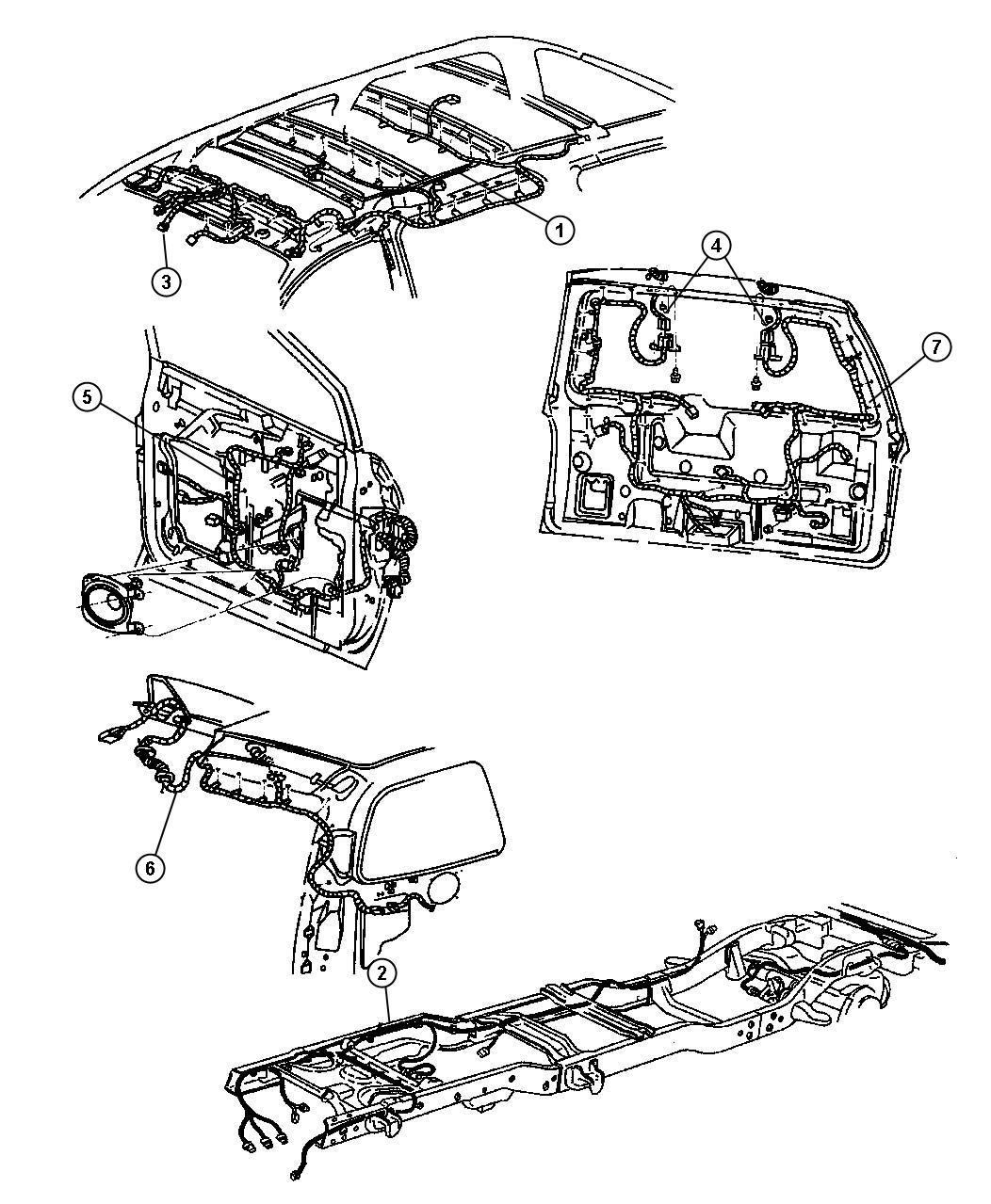 Dodge Caravan Connector. 7 way. Ahc, pollak, sseries